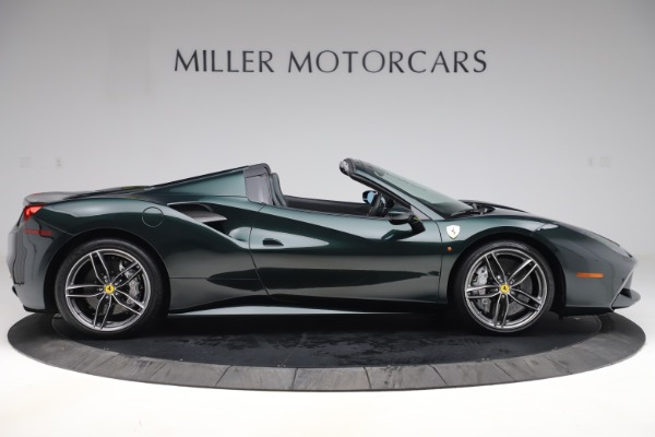 Used 2019 Ferrari 488 Spider Base for sale $329,900 at Rolls-Royce Motor Cars Greenwich in Greenwich CT 06830 9