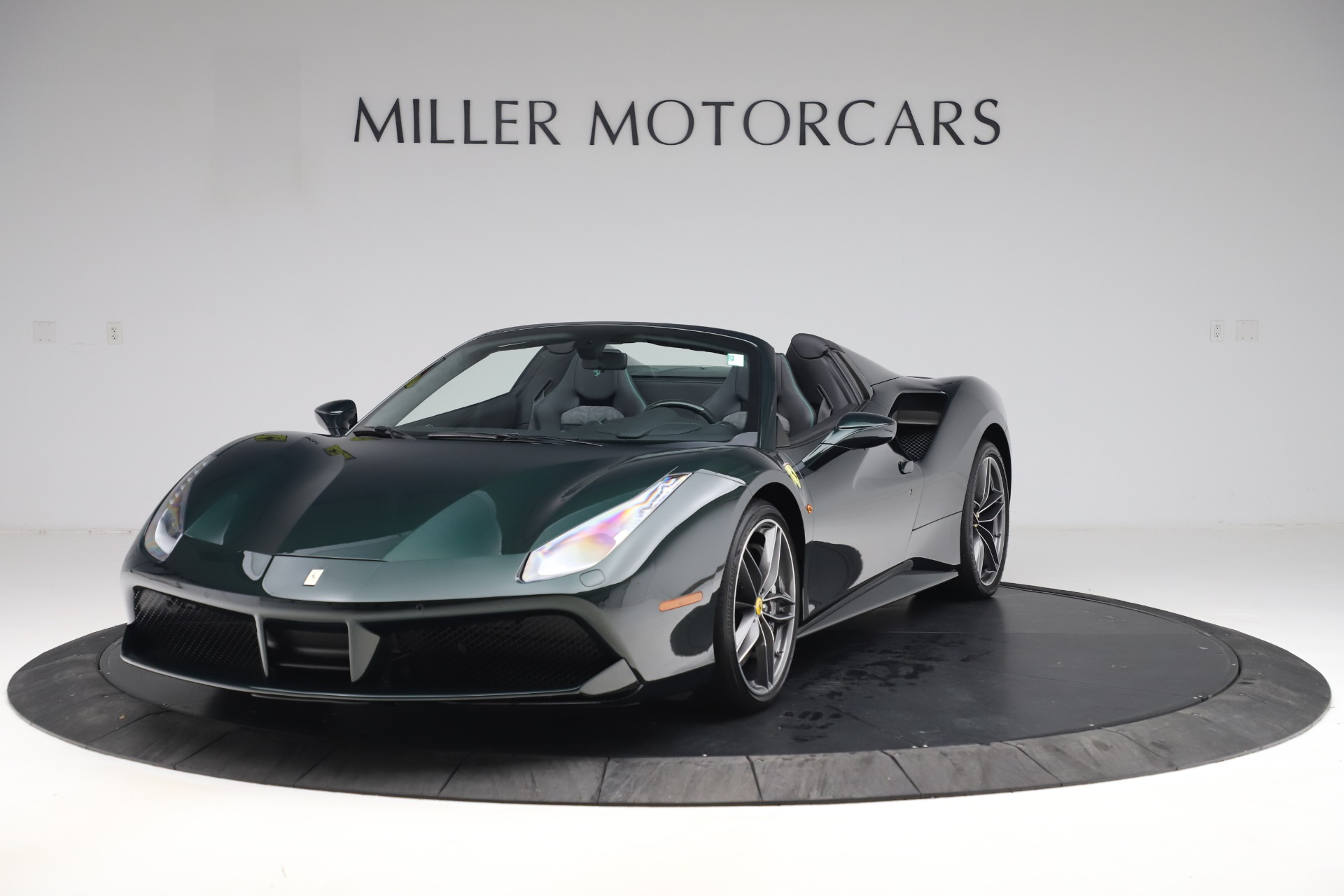 Used 2019 Ferrari 488 Spider Base for sale $329,900 at Rolls-Royce Motor Cars Greenwich in Greenwich CT 06830 1