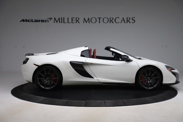 Used 2016 McLaren 650S Spider for sale Sold at Rolls-Royce Motor Cars Greenwich in Greenwich CT 06830 10