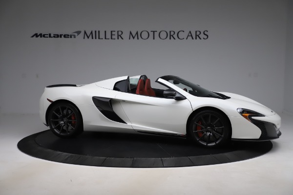 Used 2016 McLaren 650S Spider for sale Sold at Rolls-Royce Motor Cars Greenwich in Greenwich CT 06830 12