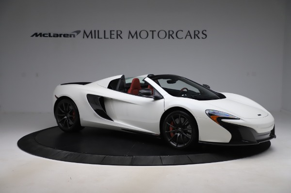 Used 2016 McLaren 650S Spider for sale $159,900 at Rolls-Royce Motor Cars Greenwich in Greenwich CT 06830 13