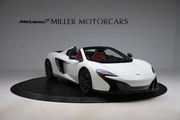 Used 2016 McLaren 650S Spider for sale $159,900 at Rolls-Royce Motor Cars Greenwich in Greenwich CT 06830 14