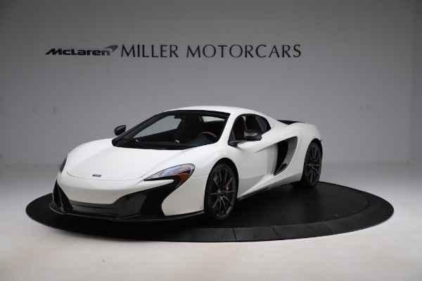 Used 2016 McLaren 650S Spider for sale Sold at Rolls-Royce Motor Cars Greenwich in Greenwich CT 06830 16