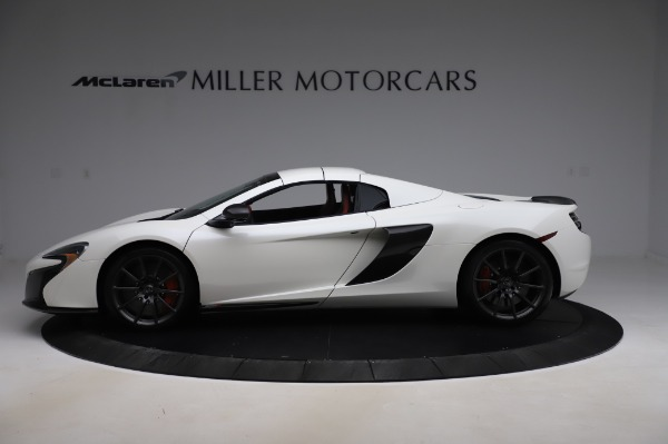 Used 2016 McLaren 650S Spider for sale Sold at Rolls-Royce Motor Cars Greenwich in Greenwich CT 06830 18