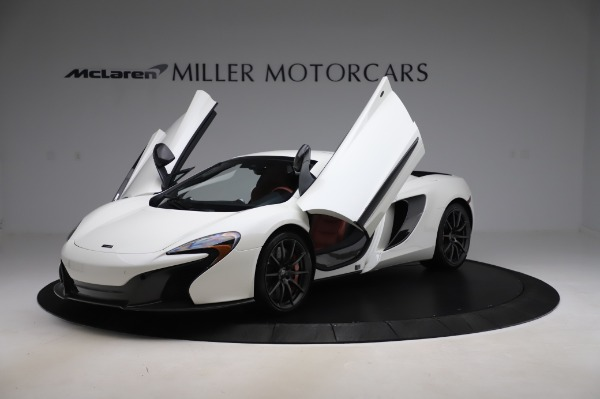 Used 2016 McLaren 650S Spider for sale Sold at Rolls-Royce Motor Cars Greenwich in Greenwich CT 06830 28
