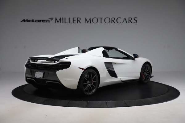 Used 2016 McLaren 650S Spider for sale Sold at Rolls-Royce Motor Cars Greenwich in Greenwich CT 06830 8