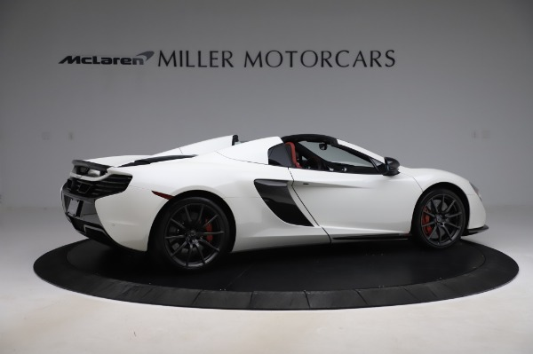 Used 2016 McLaren 650S Spider for sale Sold at Rolls-Royce Motor Cars Greenwich in Greenwich CT 06830 9
