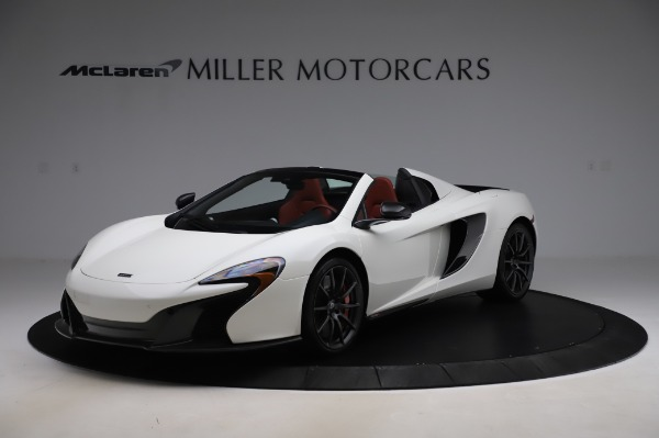 Used 2016 McLaren 650S Spider for sale $159,900 at Rolls-Royce Motor Cars Greenwich in Greenwich CT 06830 1