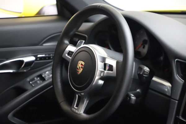 Used 2013 Porsche 911 Carrera 4S for sale $74,900 at Rolls-Royce Motor Cars Greenwich in Greenwich CT 06830 23