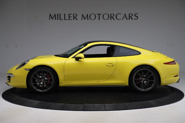 Used 2013 Porsche 911 Carrera 4S for sale $74,900 at Rolls-Royce Motor Cars Greenwich in Greenwich CT 06830 3