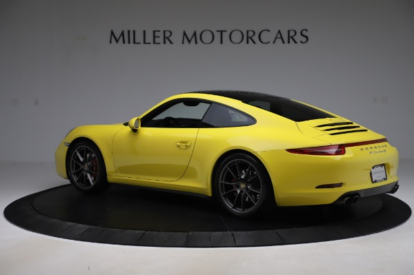 Used 2013 Porsche 911 Carrera 4S for sale $74,900 at Rolls-Royce Motor Cars Greenwich in Greenwich CT 06830 4