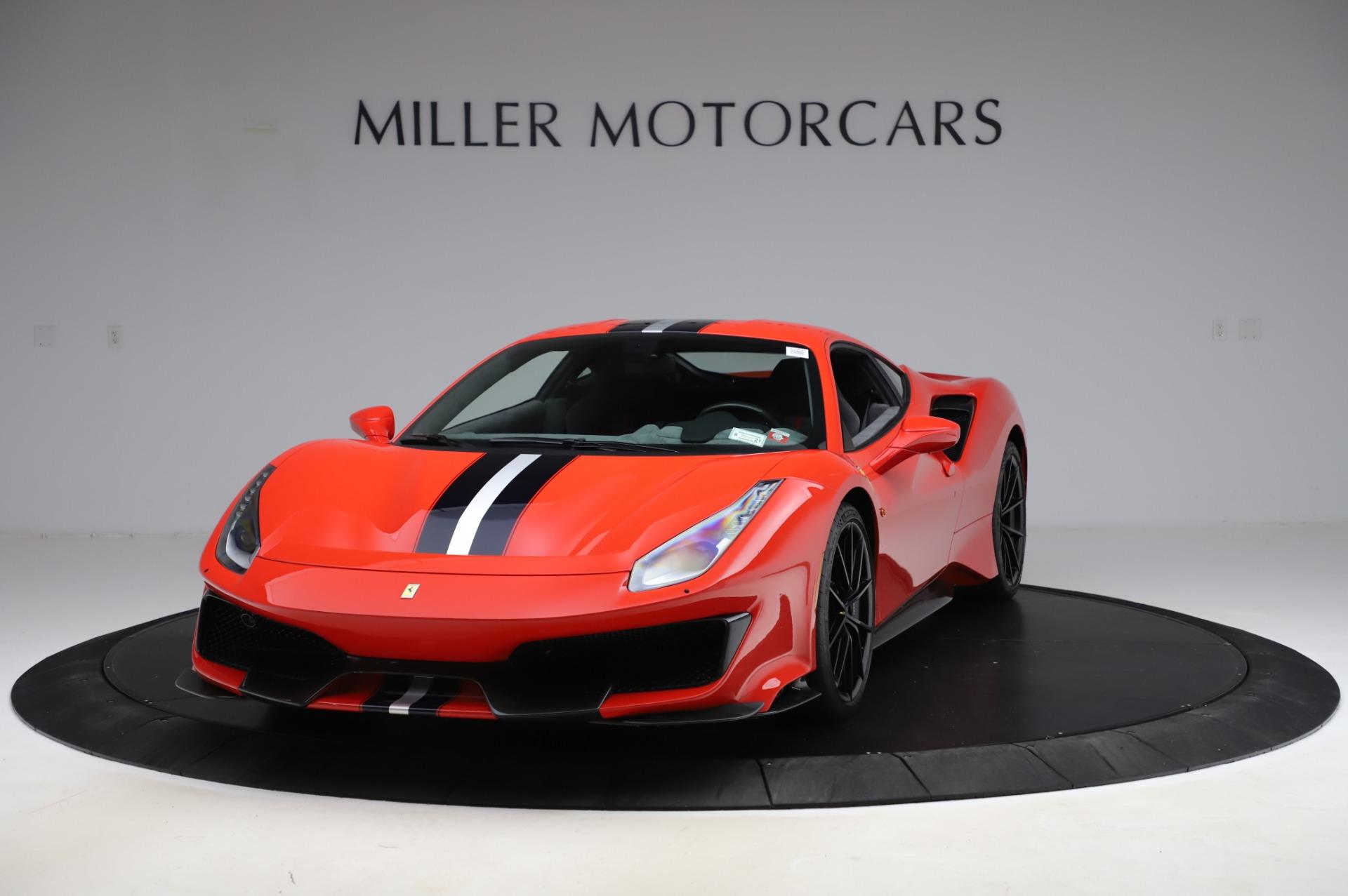 Used 2020 Ferrari 488 Pista for sale $439,900 at Rolls-Royce Motor Cars Greenwich in Greenwich CT 06830 1