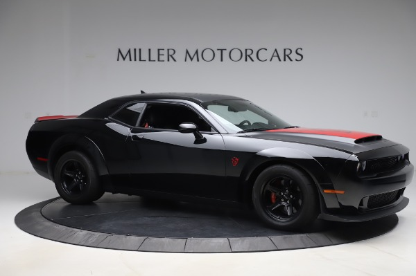 Used 2018 Dodge Challenger SRT Demon for sale Call for price at Rolls-Royce Motor Cars Greenwich in Greenwich CT 06830 10