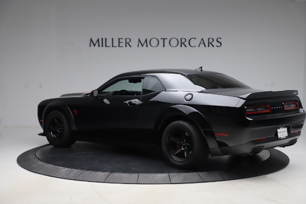 Used 2018 Dodge Challenger SRT Demon for sale Call for price at Rolls-Royce Motor Cars Greenwich in Greenwich CT 06830 4
