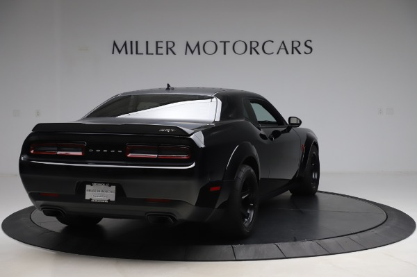 Used 2018 Dodge Challenger SRT Demon for sale Call for price at Rolls-Royce Motor Cars Greenwich in Greenwich CT 06830 7