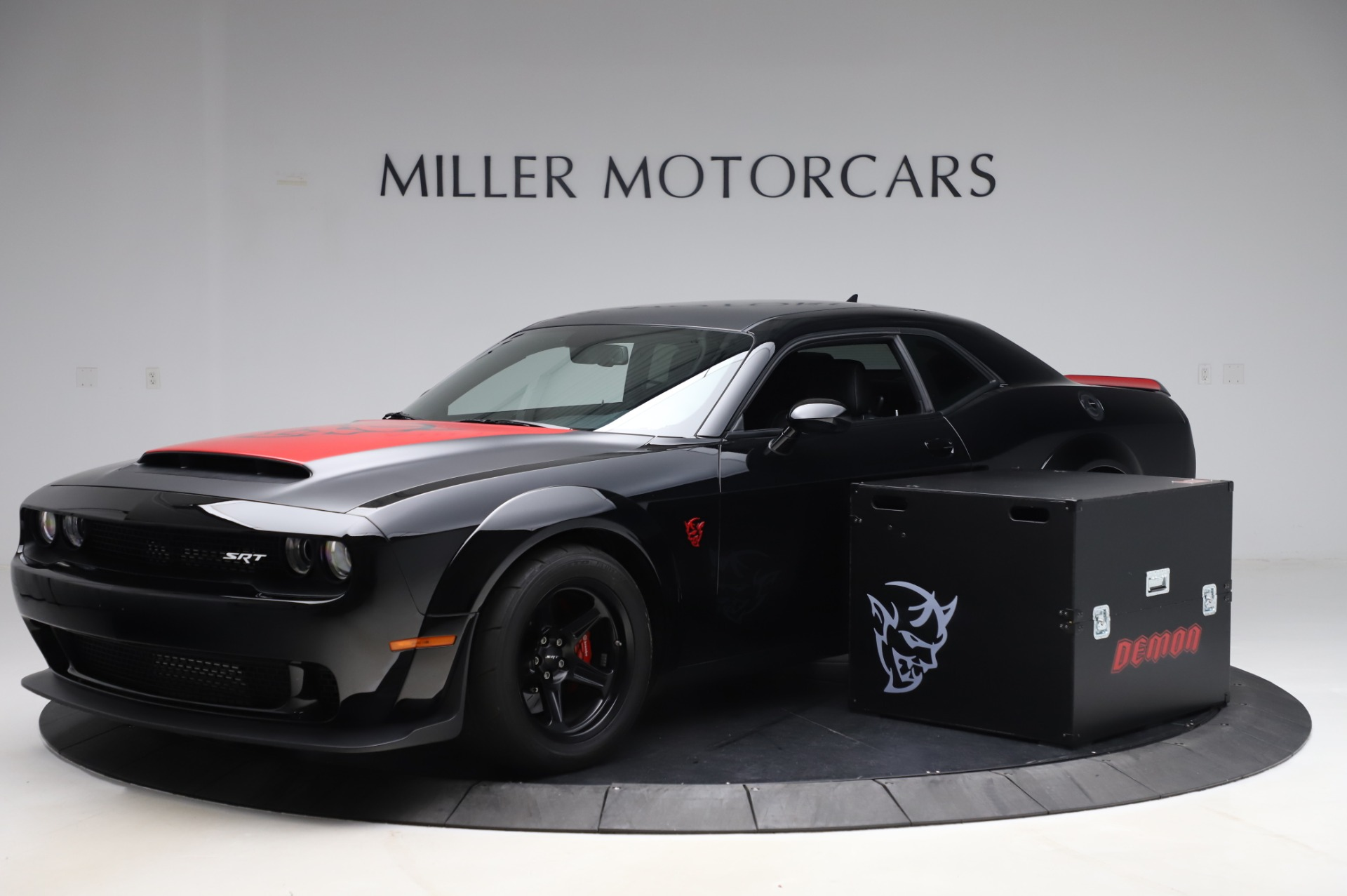 Used 2018 Dodge Challenger SRT Demon for sale Call for price at Rolls-Royce Motor Cars Greenwich in Greenwich CT 06830 1