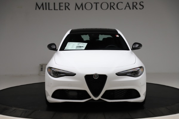 New 2020 Alfa Romeo Giulia Sport Q4 for sale Call for price at Rolls-Royce Motor Cars Greenwich in Greenwich CT 06830 12