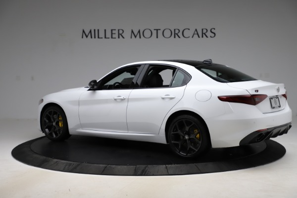 New 2020 Alfa Romeo Giulia Sport Q4 for sale Call for price at Rolls-Royce Motor Cars Greenwich in Greenwich CT 06830 4