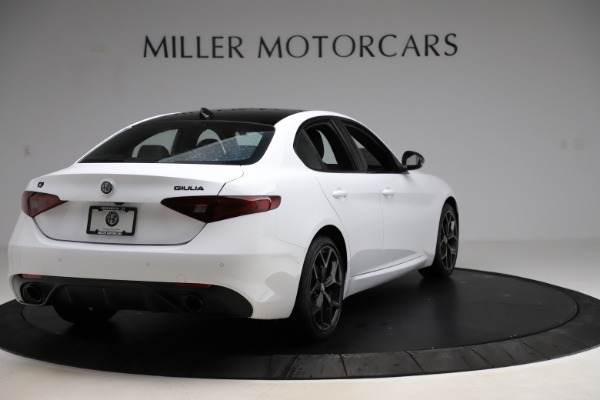 New 2020 Alfa Romeo Giulia Sport Q4 for sale Call for price at Rolls-Royce Motor Cars Greenwich in Greenwich CT 06830 7