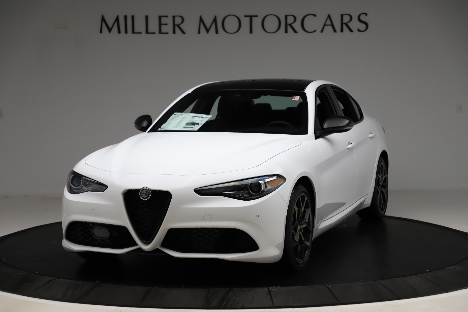 New 2020 Alfa Romeo Giulia Sport Q4 for sale Call for price at Rolls-Royce Motor Cars Greenwich in Greenwich CT 06830 1
