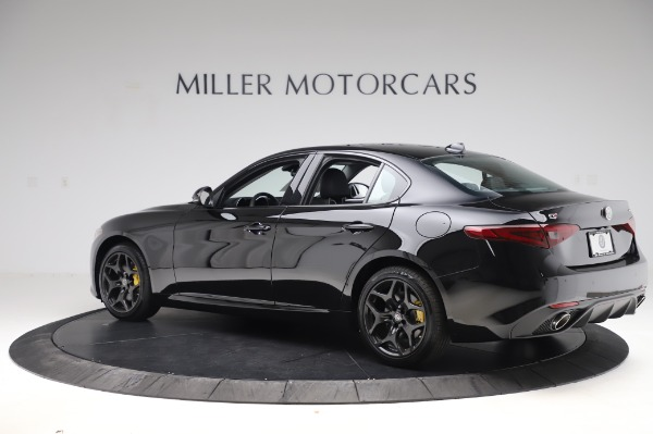 New 2020 Alfa Romeo Giulia Sport Q4 for sale Sold at Rolls-Royce Motor Cars Greenwich in Greenwich CT 06830 4