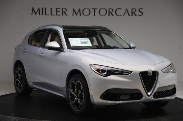 New 2020 Alfa Romeo Stelvio Ti Lusso Q4 for sale $55,045 at Rolls-Royce Motor Cars Greenwich in Greenwich CT 06830 11