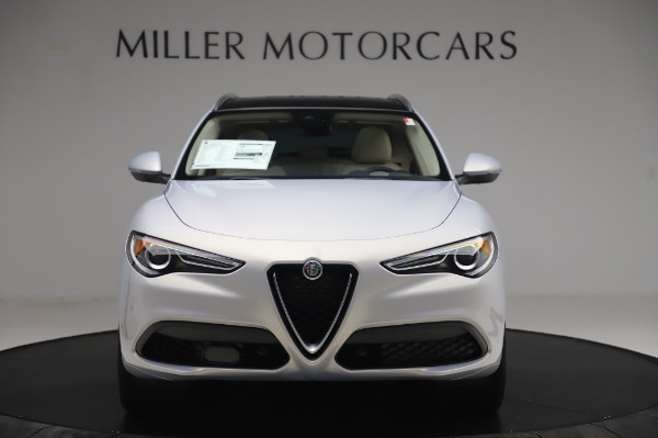 New 2020 Alfa Romeo Stelvio Ti Lusso Q4 for sale $55,045 at Rolls-Royce Motor Cars Greenwich in Greenwich CT 06830 12