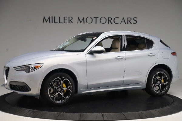 New 2020 Alfa Romeo Stelvio Ti Lusso Q4 for sale $55,045 at Rolls-Royce Motor Cars Greenwich in Greenwich CT 06830 2