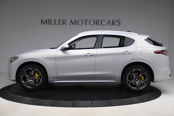 New 2020 Alfa Romeo Stelvio Ti Lusso Q4 for sale $55,045 at Rolls-Royce Motor Cars Greenwich in Greenwich CT 06830 3