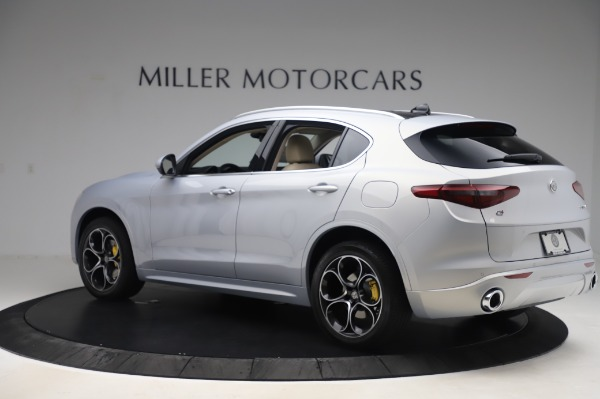 New 2020 Alfa Romeo Stelvio Ti Lusso Q4 for sale $55,045 at Rolls-Royce Motor Cars Greenwich in Greenwich CT 06830 4