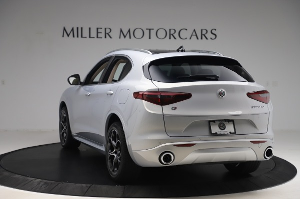 New 2020 Alfa Romeo Stelvio Ti Lusso Q4 for sale $55,045 at Rolls-Royce Motor Cars Greenwich in Greenwich CT 06830 5