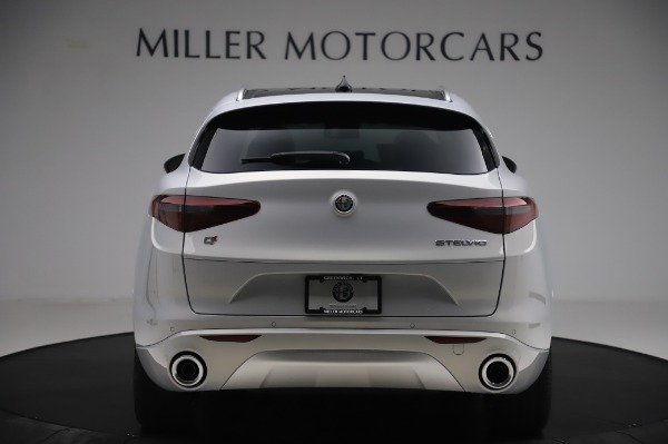 New 2020 Alfa Romeo Stelvio Ti Lusso Q4 for sale $55,045 at Rolls-Royce Motor Cars Greenwich in Greenwich CT 06830 6