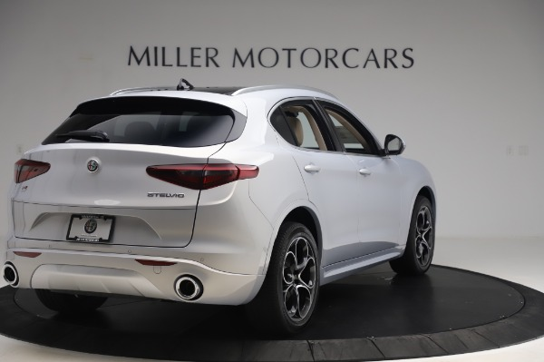 New 2020 Alfa Romeo Stelvio Ti Lusso Q4 for sale $55,045 at Rolls-Royce Motor Cars Greenwich in Greenwich CT 06830 7
