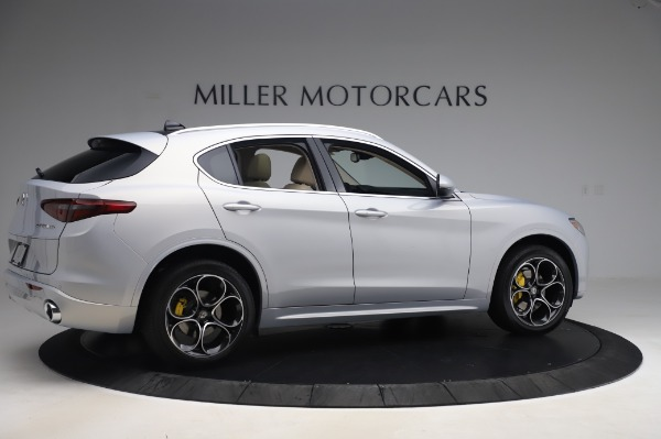 New 2020 Alfa Romeo Stelvio Ti Lusso Q4 for sale $55,045 at Rolls-Royce Motor Cars Greenwich in Greenwich CT 06830 8