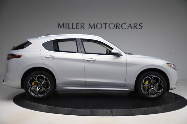 New 2020 Alfa Romeo Stelvio Ti Lusso Q4 for sale $55,045 at Rolls-Royce Motor Cars Greenwich in Greenwich CT 06830 9