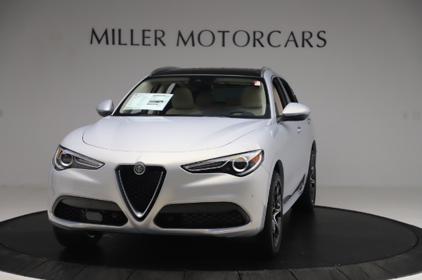 New 2020 Alfa Romeo Stelvio Ti Lusso Q4 for sale $55,045 at Rolls-Royce Motor Cars Greenwich in Greenwich CT 06830 1