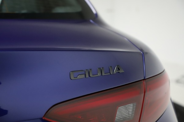 New 2020 Alfa Romeo Giulia Ti Sport Q4 for sale Sold at Rolls-Royce Motor Cars Greenwich in Greenwich CT 06830 28
