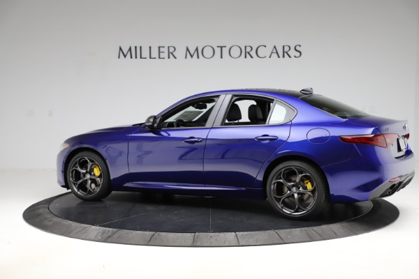 New 2020 Alfa Romeo Giulia Ti Sport Q4 for sale Sold at Rolls-Royce Motor Cars Greenwich in Greenwich CT 06830 4