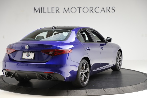 New 2020 Alfa Romeo Giulia Ti Sport Q4 for sale Sold at Rolls-Royce Motor Cars Greenwich in Greenwich CT 06830 7