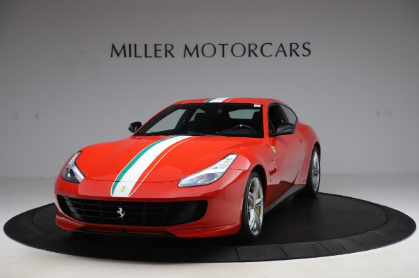 Used 2018 Ferrari GTC4Lusso for sale $319,900 at Rolls-Royce Motor Cars Greenwich in Greenwich CT 06830 1