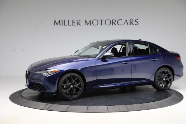 New 2020 Alfa Romeo Giulia Ti Q4 for sale $48,545 at Rolls-Royce Motor Cars Greenwich in Greenwich CT 06830 2