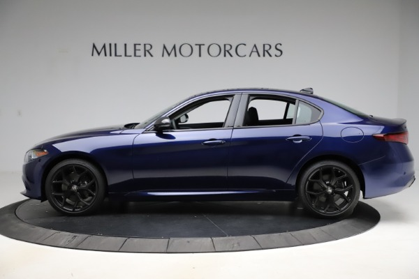 New 2020 Alfa Romeo Giulia Ti Q4 for sale Sold at Rolls-Royce Motor Cars Greenwich in Greenwich CT 06830 3
