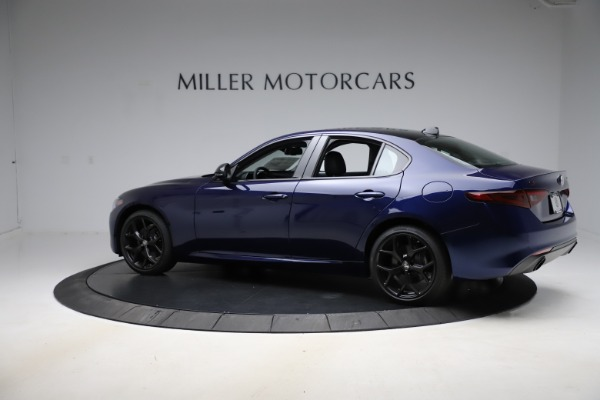 New 2020 Alfa Romeo Giulia Ti Q4 for sale Sold at Rolls-Royce Motor Cars Greenwich in Greenwich CT 06830 4