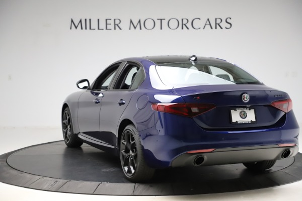 New 2020 Alfa Romeo Giulia Ti Q4 for sale Sold at Rolls-Royce Motor Cars Greenwich in Greenwich CT 06830 5