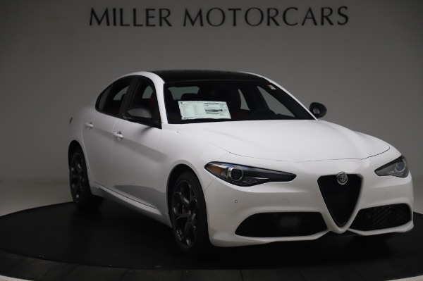 New 2020 Alfa Romeo Giulia Ti Sport Q4 for sale Sold at Rolls-Royce Motor Cars Greenwich in Greenwich CT 06830 11