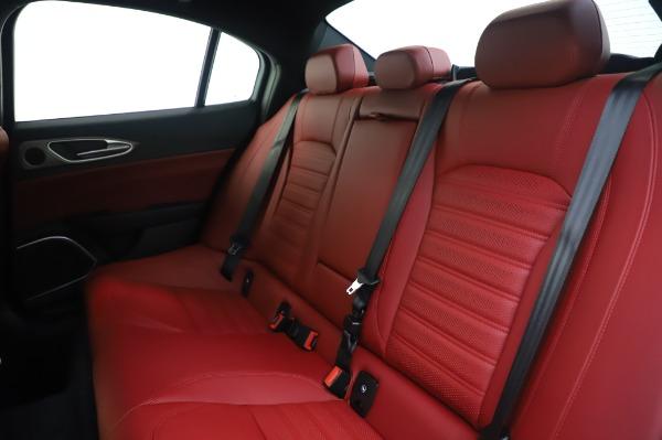 New 2020 Alfa Romeo Giulia Ti Sport Q4 for sale $46,495 at Rolls-Royce Motor Cars Greenwich in Greenwich CT 06830 18