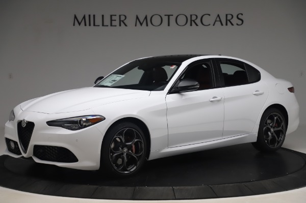 New 2020 Alfa Romeo Giulia Ti Sport Q4 for sale Sold at Rolls-Royce Motor Cars Greenwich in Greenwich CT 06830 2