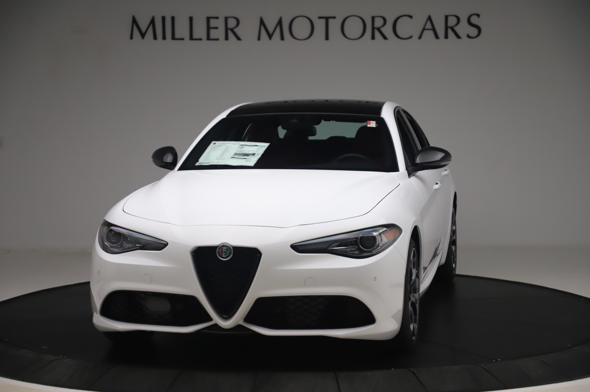 New 2020 Alfa Romeo Giulia Ti Sport Q4 for sale Sold at Rolls-Royce Motor Cars Greenwich in Greenwich CT 06830 1
