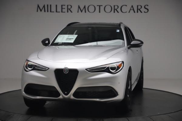 New 2020 Alfa Romeo Stelvio Ti Sport Q4 for sale $54,795 at Rolls-Royce Motor Cars Greenwich in Greenwich CT 06830 1