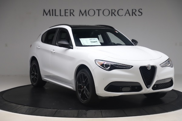 New 2020 Alfa Romeo Stelvio Ti Sport Q4 for sale $56,495 at Rolls-Royce Motor Cars Greenwich in Greenwich CT 06830 11